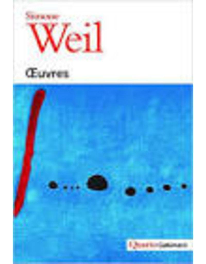 Oeuvres  de Simone Weil