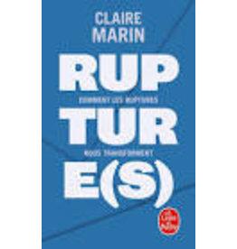 MARIN Claire Ruptures (poche)