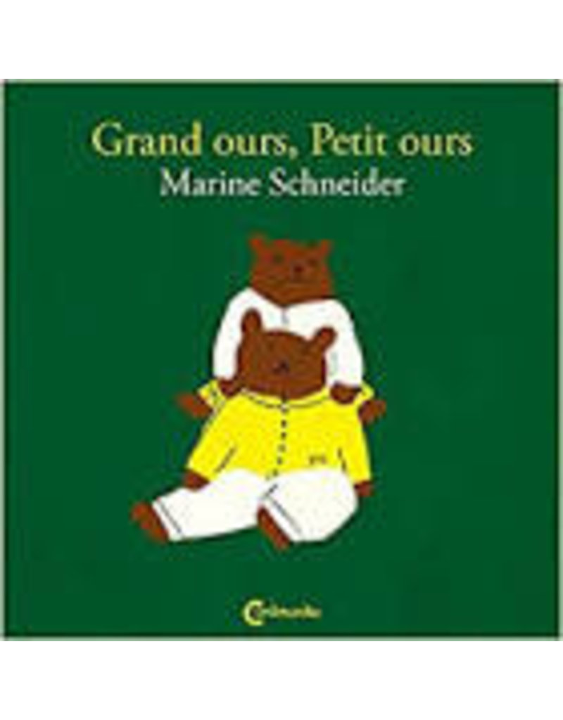 SCHNEIDER Marine Grand ours, petit ours