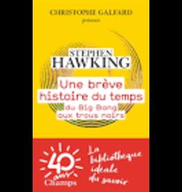 HAWKING Stephen Une brève histoire du temps