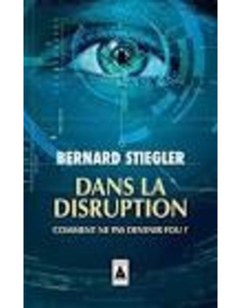 STIEGLER Bernard Dans la disruption