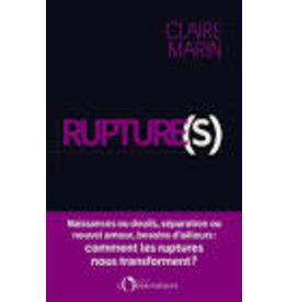 MARIN Claire Ruptures (grand format)