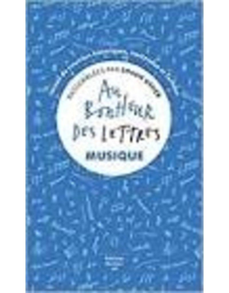 Au bonheur des lettres. Musique