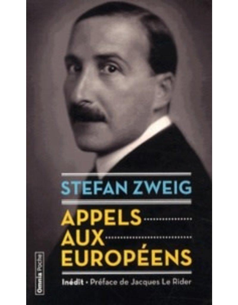 ZWEIG Stefan Appels aux europeens