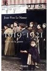 1919-1921. Sortir de la guerre