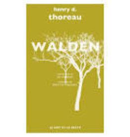 THOREAU Henry D. Walden (Poche)