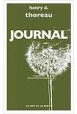 THOREAU Henry D. Journal