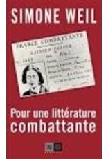 Pour une littérature combattante