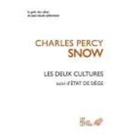 SNOW Charles Percy Les deux cultures. Suivi d'Etat de siège