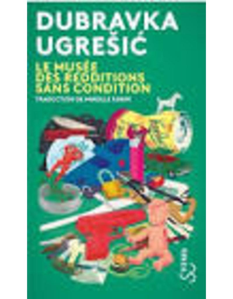 UGRESIC Dubravka Le musée des redditions sans condition (poche)