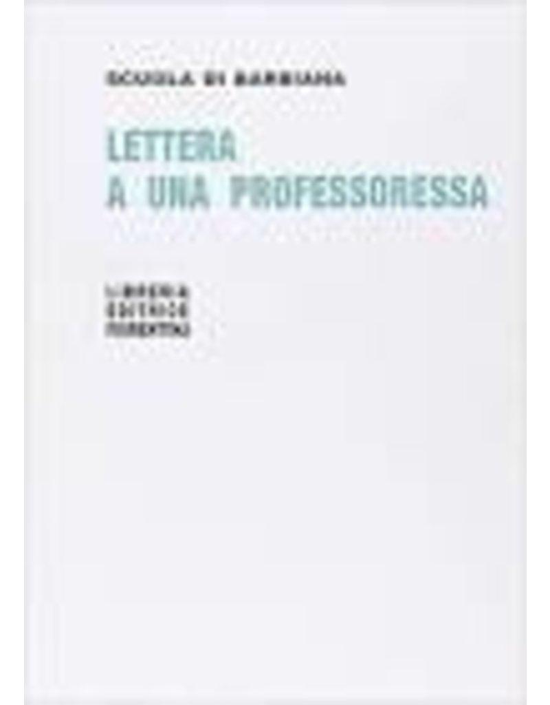 Lettera a una prof