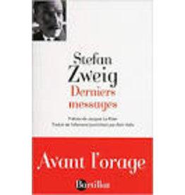 ZWEIG Stefan Derniers messages (grand format)