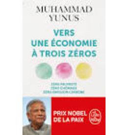 Vers une économie à trois zéros
