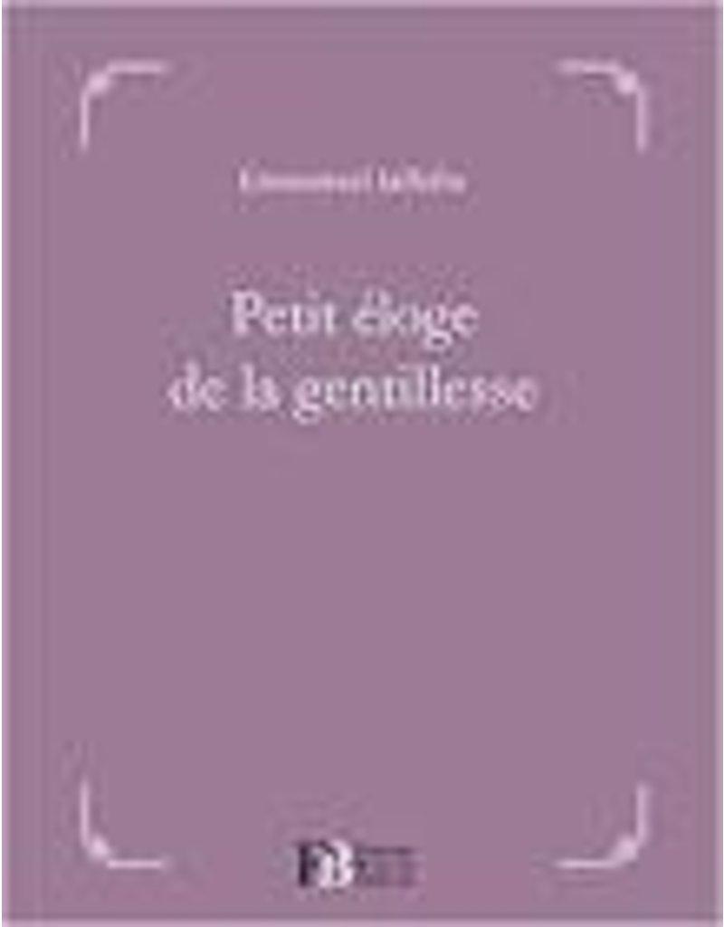 JAFFELIN Emmanuel Petit éloge de la gentillesse