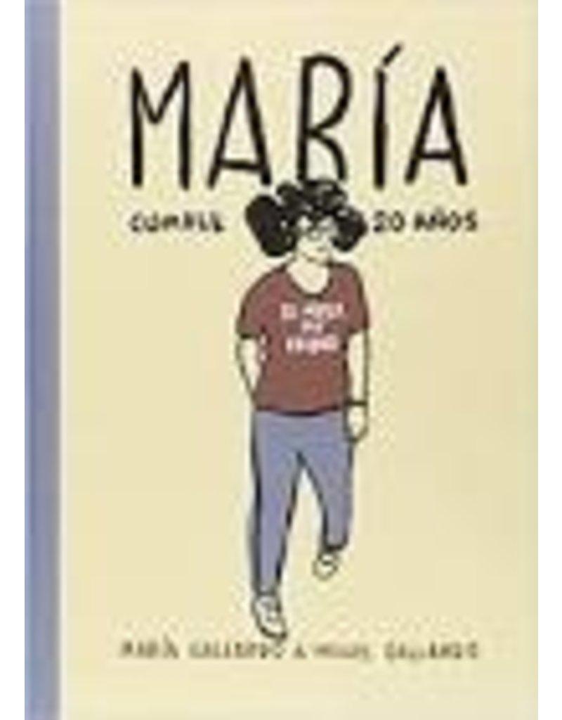 Maria cumple 20 anos
