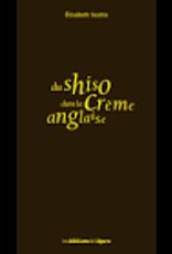 Du shiso dans la crème anglaise