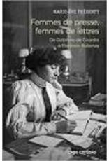 Femmes de presse, femmes de lettres