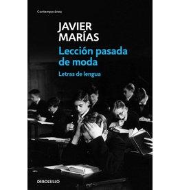 MARIAS Javier Lección pasada de moda