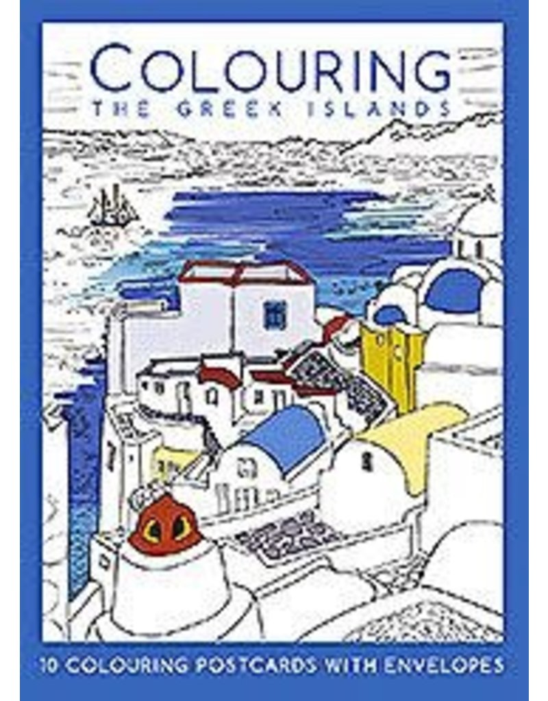 Colouring the Greek islands