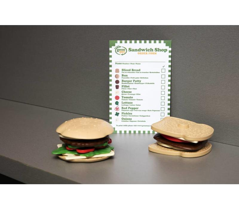 Green Toys sandwichset