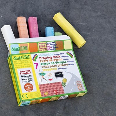 Ökonorm Drawing chalk (7 colours)