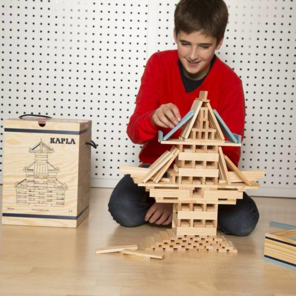 Kapla Building blocks Kapla in wooden box (280pcs.)