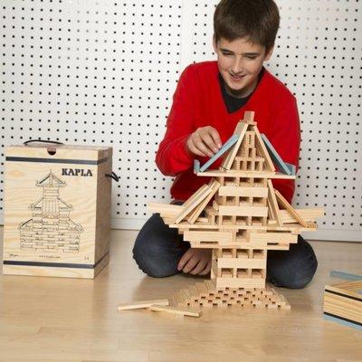 Kapla Houten box met 280 plankjes