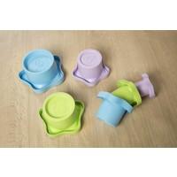 Green Toys stapelpotten: stevig stapelen!