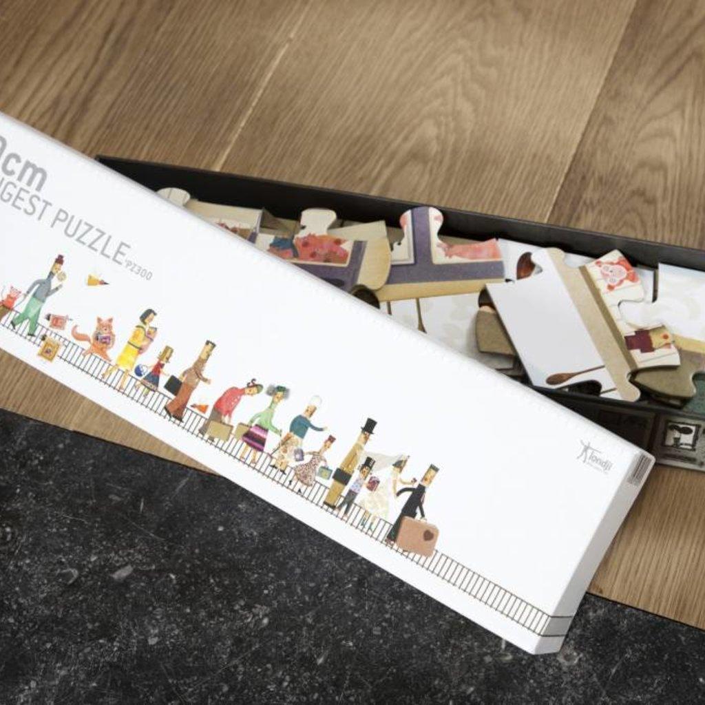 Londji Puzzle le plus long 2 mètres