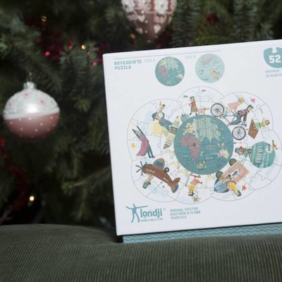 Londji World Globe Puzzle