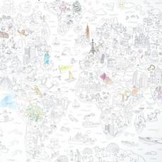 OMY Reuze kleurposter atlas