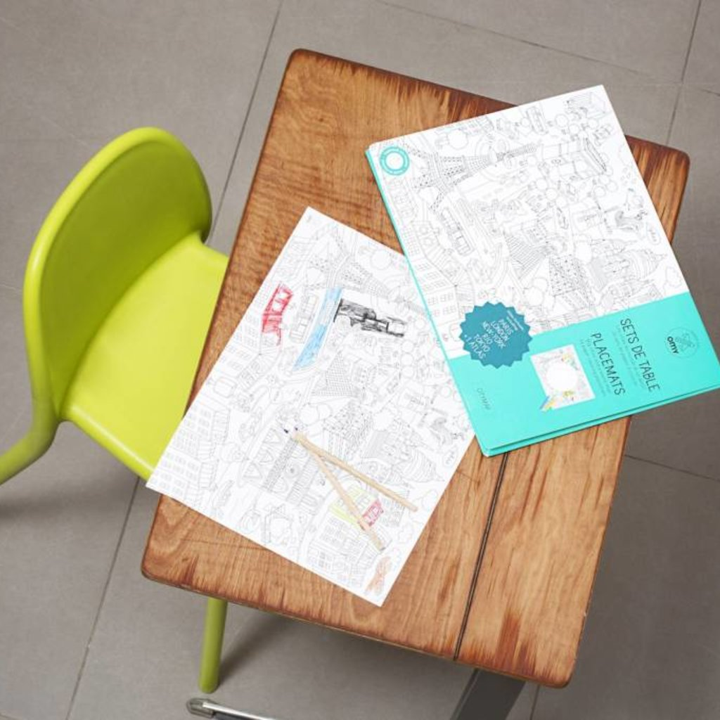 OMY OMY wereldsteden kleurplaten