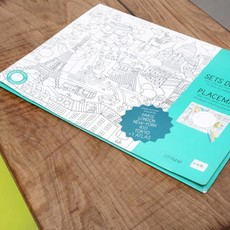 OMY OMY Placemats - Big cities of the world