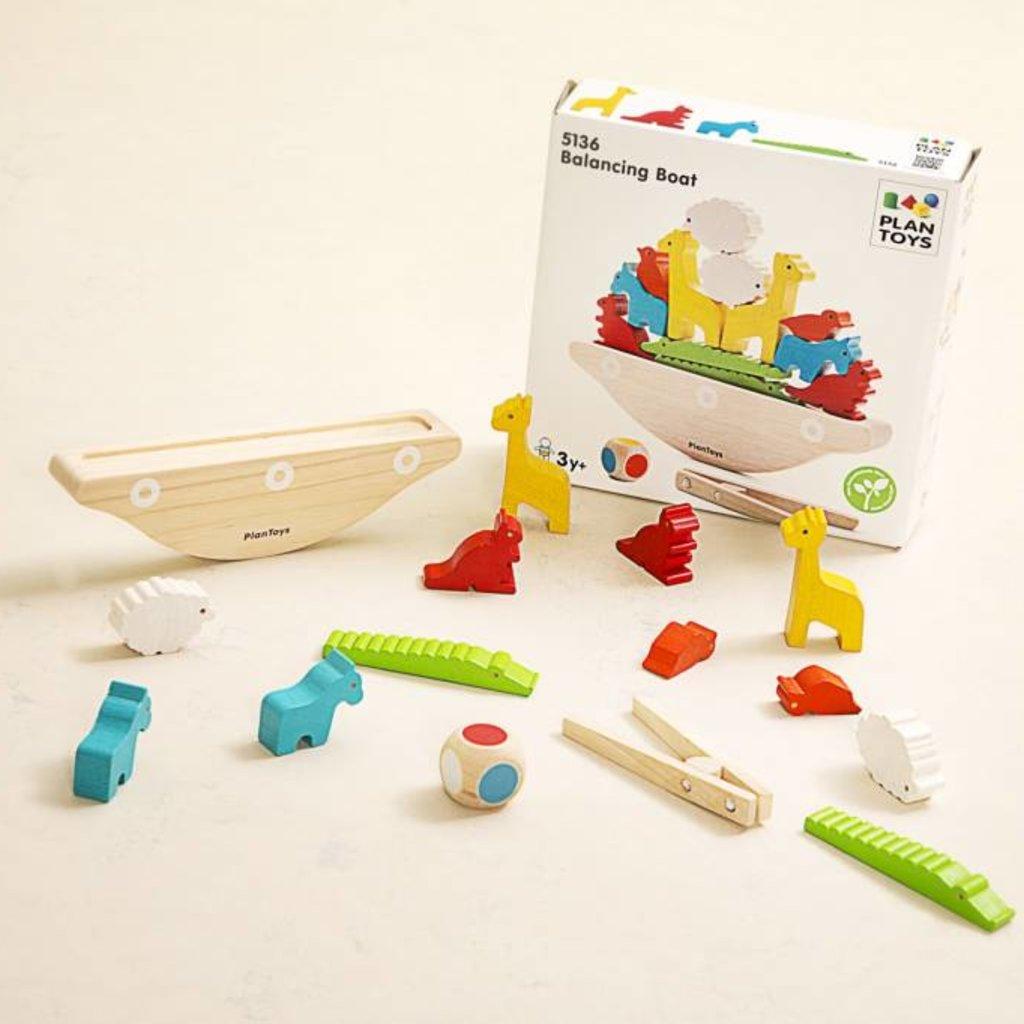 Plan Toys Plan Toys balancerende boot