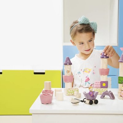 Plan Toys Jeu de construction féerique