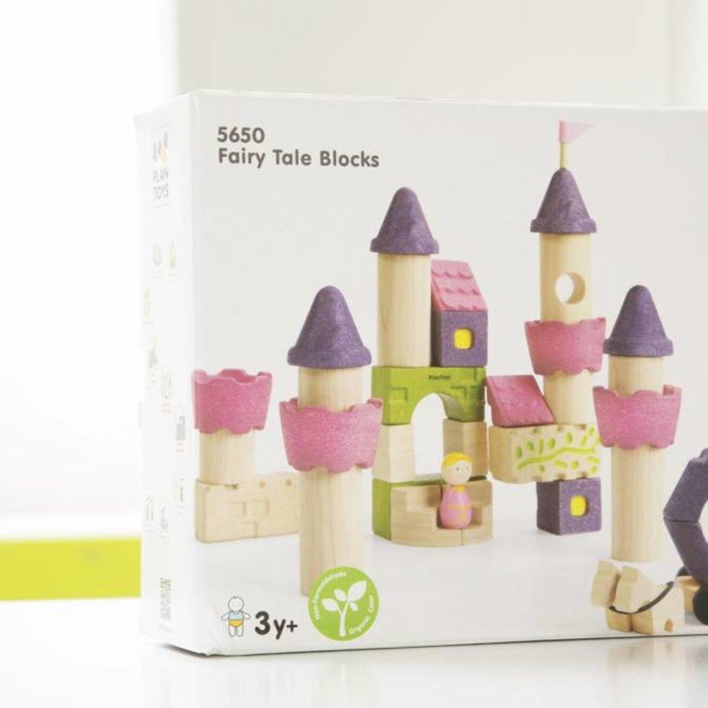 Plan Toys Plan Toys sprookjesbouwblokken