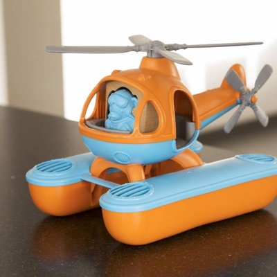 Green Toys Waterhelicopter oranje