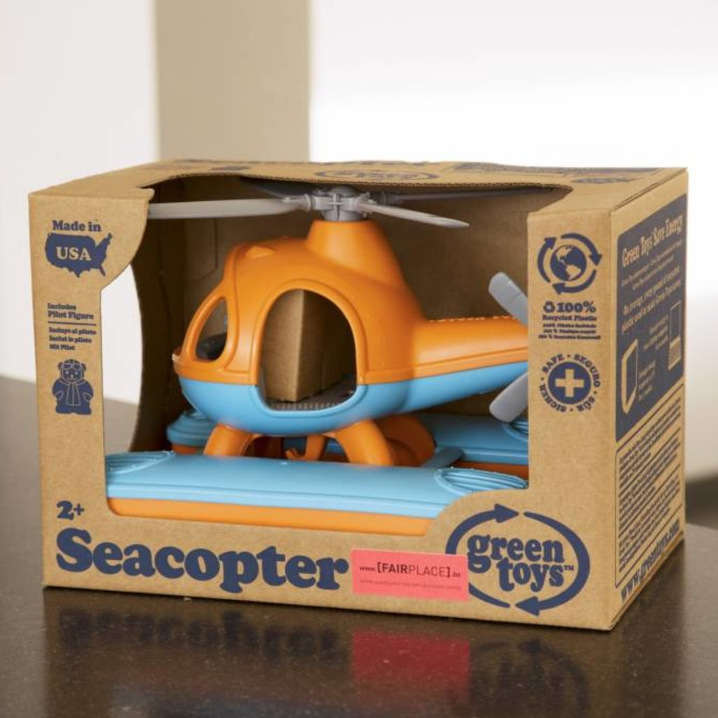 Green Toys Green Toys seacopter orange