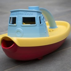 Green Toys Green Toys tugboat blue top
