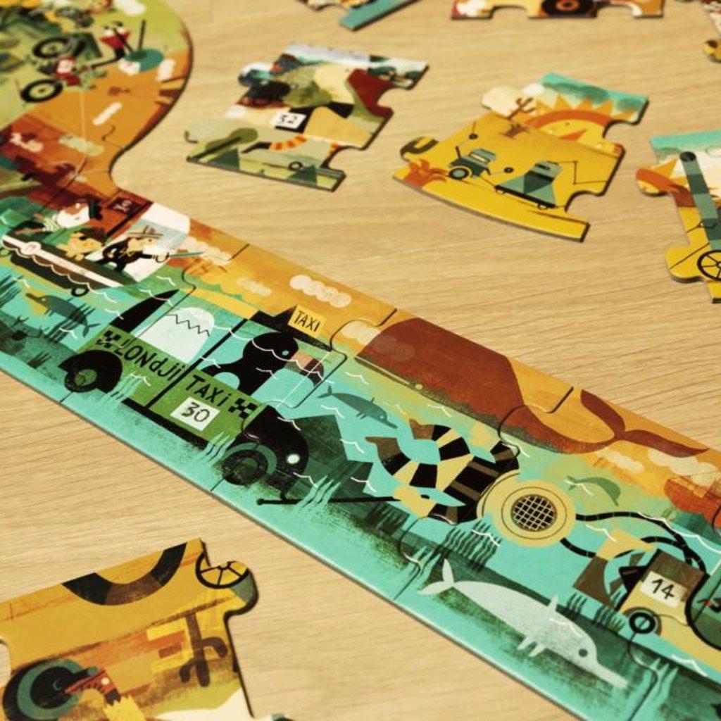 Londji Londji Race puzzel 3 meter