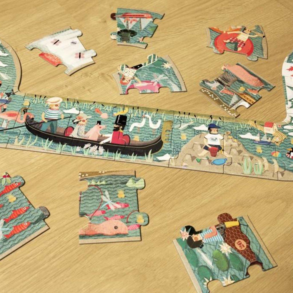 Londji Londji Rivier puzzel 3 meter