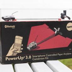 Power Up 3.0: telefoon gestuurd papieren vliegtuig.