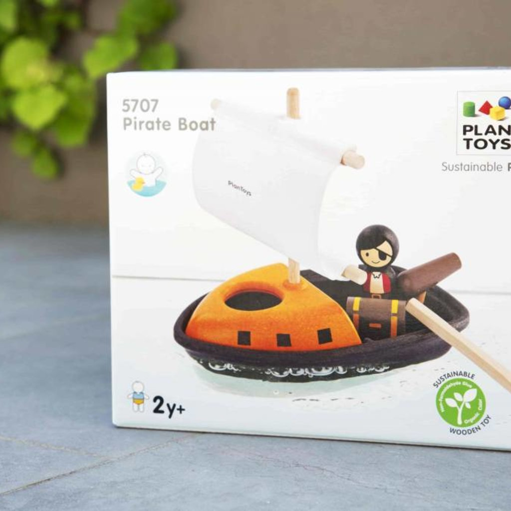 Plan Toys Plan Toys piratenboot