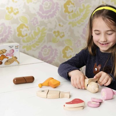 Plan Toys Assortiments d'aliments à couper