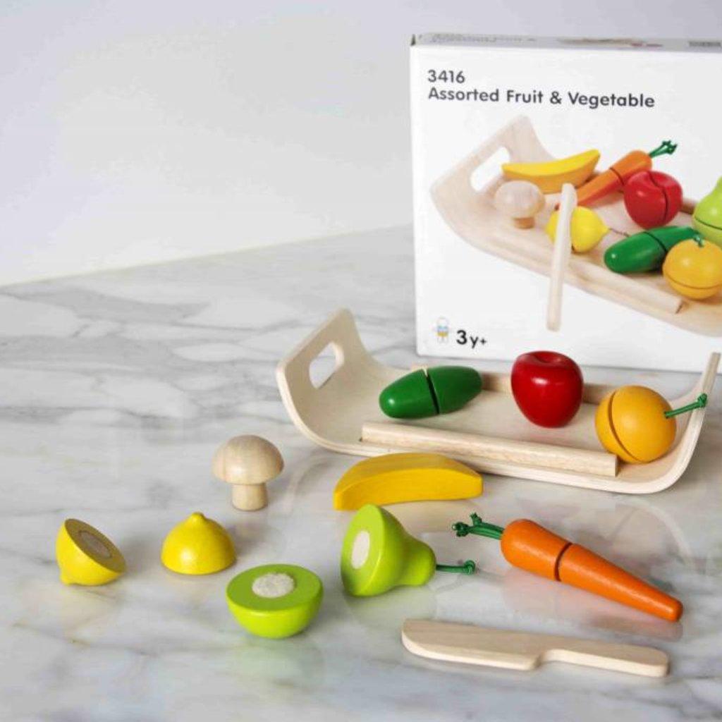 Plan Toys Plan Toys groenten- en fruitset