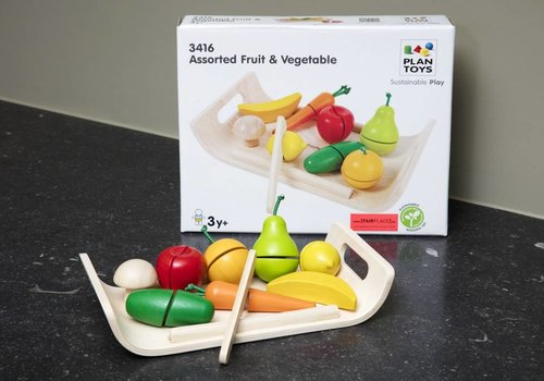 Plan Toys Groenten- en fruitset