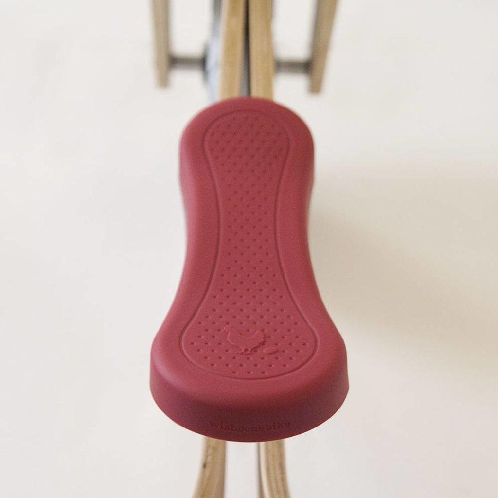 Wishbone Wishbone housse de selle rouge pour vélo