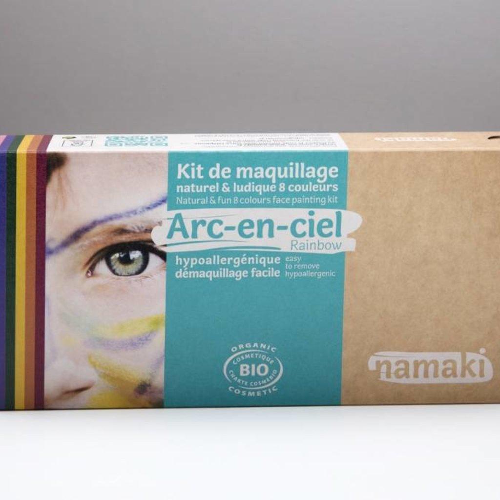 Namaki Bio-schminkset regenboogkleuren