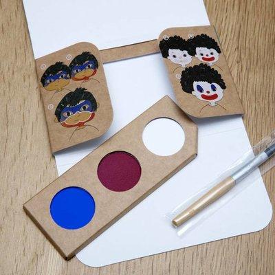 Namaki Bio face painting kit clown & superhero