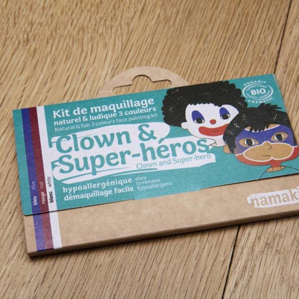 Namaki Kit de maquillage bio clown & super-héros